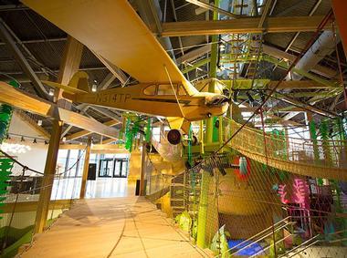 the inside of the Museum of Natural Curiosity in Lehi Utah